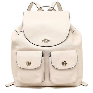 Coach Leather Backpack! Brand new with tags!